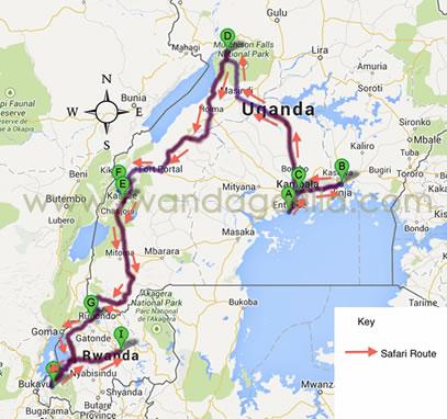 17 days uganda rwanda gorilla safari