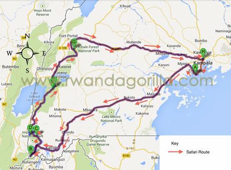 3 day rwanda gorilla tour