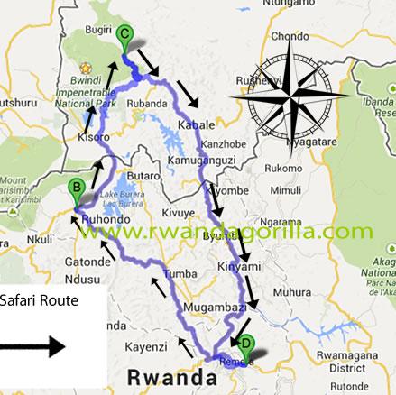 5 day rwanda gorilla tour