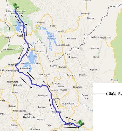 2 day Uganda safari