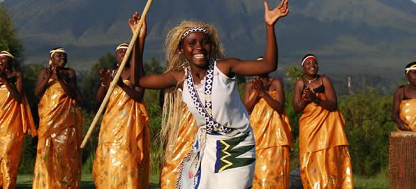 cultural dance in Rwanda
