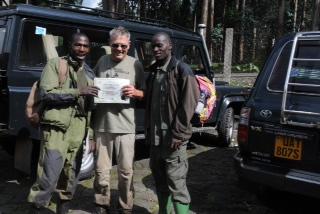 Bill William - gorilla trek africa
