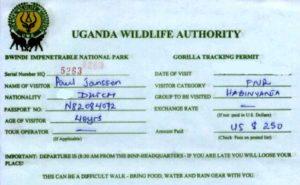 Uganda-permit
