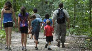 What to with kids while trekking