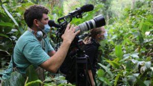 Gorilla Video Shooting