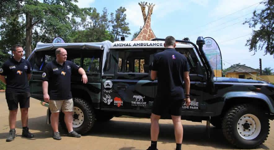 Uganda gets ambulance for animal