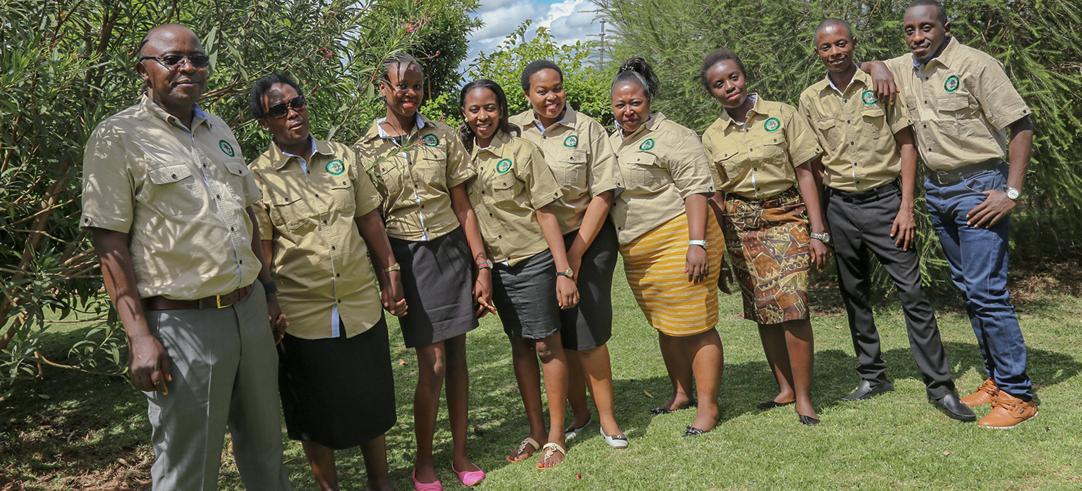 Staff at Gorilla Trek Africa