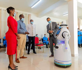Rwanda to use robot in fighting Covid19