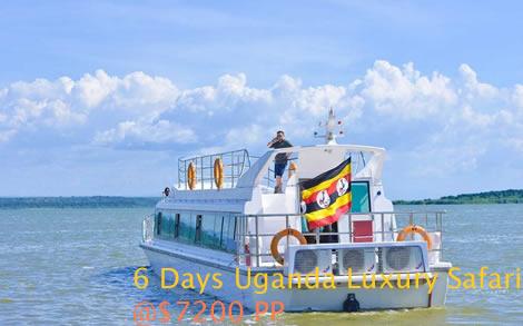 6 Days Uganda luxury gorillas & wildlife safari